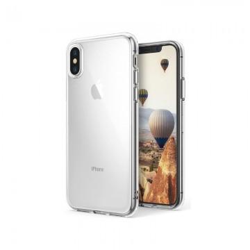 Capa Silicone Slim iPhone XR Transparente